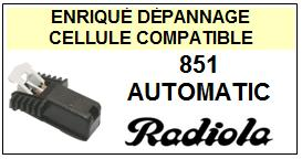 RADIOLA platine  851 AUTOMATIC    Cellule Compatible diamant sphérique
