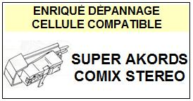 RIGA<br> SUPER AKORDS COMIX STEREO  Cellule (cartridge) pour tourne-disques <BR><SMALL>a 2014-12</small>
