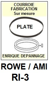 ROWE-AMI-RI3 RI-3-COURROIES-ET-KITS-COURROIES-COMPATIBLES