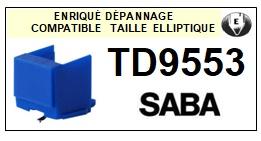 SABA-TD9553-POINTES-DE-LECTURE-DIAMANTS-SAPHIRS-COMPATIBLES