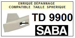 SABA<br> TD9900 Pointe (stylus) sphérique pour tourne-disques<small> 2015-09</small>