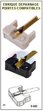 SANYO SERIE PLUS Q25  <br>Pointe diamant sphérique pour tourne-disques (stylus)<SMALL> 2015-12</SMALL>
