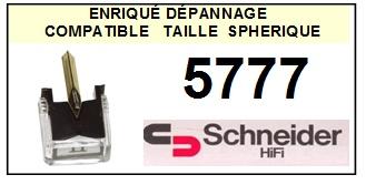 SCHNEIDER 5777 <br>Pointe diamant sphérique pour tourne-disques (stylus)<SMALL> 2015-11</SMALL>