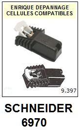 SCHNEIDER 6970  <BR>Cellule  pour tourne-disques (<B>cartridge</B>)<SMALL> 2017-02</small>