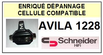 SCHNEIDER AVILA 1228  <BR>Cellule  pour tourne-disques (cartridge)<SMALL> 2015-11</small>