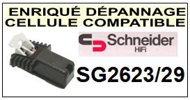 SCHNEIDER platine  SG2623/29    Cellule Compatible diamant sphérique