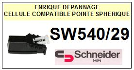 SCHNEIDER<br> SW5400/29 Cellule (cartridge) pour tourne-disques <BR><SMALL>a 2015-01</small>