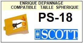 SCOTT-PS18  PS-18-POINTES-DE-LECTURE-DIAMANTS-SAPHIRS-COMPATIBLES