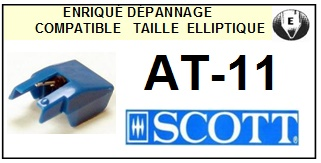 SCOTT AT11 AT-11 <br>Pointe Diamant Elliptique (stylus)<small> 2015-12</small>