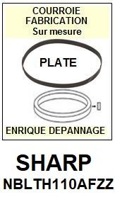 FICHE-DE-VENTE-COURROIES-COMPATIBLES-SHARP-NBLTH0110AFZZ