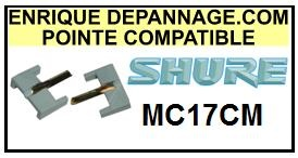 SHURE-MC17CM-POINTES-DE-LECTURE-DIAMANTS-SAPHIRS-COMPATIBLES