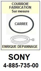 FICHE-DE-VENTE-COURROIES-COMPATIBLES-SONY-488573500 4-885-735-00