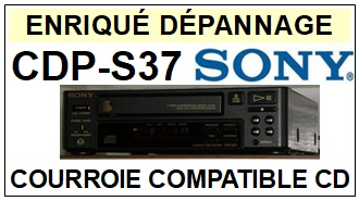 SONY-CDPS37 CDP-S37-COURROIES-ET-KITS-COURROIES-COMPATIBLES