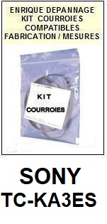 SONY-TCKA3ES TC-KA3ES-COURROIES-ET-KITS-COURROIES-COMPATIBLES