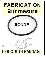 SONY<br> 360506700 3-605-067-00 courroie (round belt) référence sony <br><small> 2015-07</small>