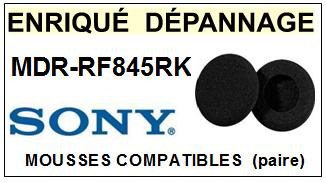 SONY MDRRF845RK MDR-RF845RK mousse compatible (vente par paire) <small>a 2014-08</small>
