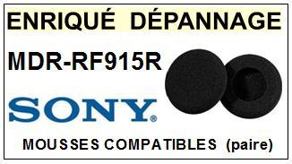 SONY  MDRRF915R  MDR-RF915R  mousse compatible casque (vente par paire)