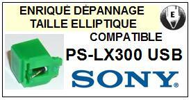 SONY PSLX300USB PS-LX300 USB <br>Pointe elliptique pour tourne-disques  (stylus)<small> 2015-11</small>