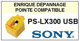 SONY PSLX300USB PS-LX300 USB <br>Pointe sphérique pour tourne-disques (stylus)<small> 2015-11</small>