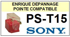 SONY<BR> PST15 PS-T15 Pointe (stylus) diamant sphérique<small> 2015-10</small>