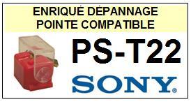 SONY<br> PST22 PS-T22 Pointe (stylus) sphérique pour tourne-disques<small> 2015-09</small>