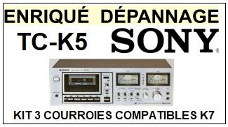 SONY-TCK5 TC-K5-COURROIES-ET-KITS-COURROIES-COMPATIBLES