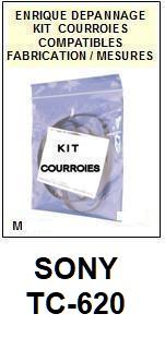 SONY-TCK620 TC-K620-COURROIES-ET-KITS-COURROIES-COMPATIBLES