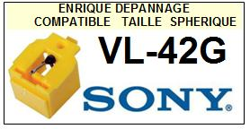 SONY VL42G VL-42G <br>Pointe Diamant <b>Sphérique</b> (stylus)<small> 2016-01</small>