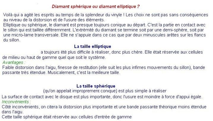 ADS-PS1000S PS-1000S-POINTES-DE-LECTURE-DIAMANTS-SAPHIRS-COMPATIBLES