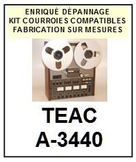 TEAC TASCAM-A3440 A-3440-COURROIES-ET-KITS-COURROIES-COMPATIBLES