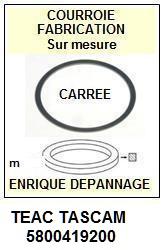 FICHE-DE-VENTE-COURROIES-COMPATIBLES-TEAC TASCAM-5800419200
