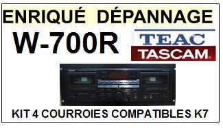 TEAC TASCAM-W700R W-700R-COURROIES-ET-KITS-COURROIES-COMPATIBLES