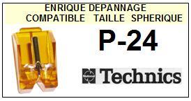 TECHNICS-P24 P-24-POINTES-DE-LECTURE-DIAMANTS-SAPHIRS-COMPATIBLES