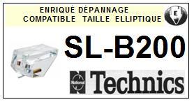 TECHNICS-SLB200 SL-B200-POINTES-DE-LECTURE-DIAMANTS-SAPHIRS-COMPATIBLES