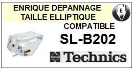 TECHNICS SLB202 SL-B202 <bR>Pointe diamant elliptique pour tourne-disques (stylus)<SMALL> 2015-10</small>