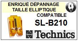 TECHNICS <br>SLB210 SL-B210 Pointe (stylus) elliptique pour tourne-disques <BR><small>sce 2015-07</small>