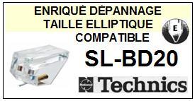 TECHNICS<br> SLBD20 SL-BD20 Pointe (stylus) elliptique pour tourne-disques<SMALL> 2015-09</small>