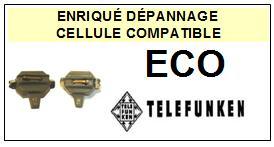 TELEFUNKEN <br>ECO  Cellule avec diamant Sphérique <BR><small> 2014-10</small>