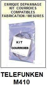 TELEFUNKEN-M410-COURROIES-ET-KITS-COURROIES-COMPATIBLES