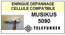 TELEFUNKEN<br> MUSIKUS 5090 Cellule (cartridge) pour tourne-disques<SMALL> 2015-09</small>