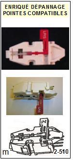 TELEFUNKEN<br> T23/2 T23-2 Cellule (cartridge) avec diamant Sphérique<small> 2015-10</small>