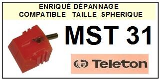 TELETON MST31  <br>Pointe Diamant <b>Sphérique</b> (stylus)<small> 2016-01</small>