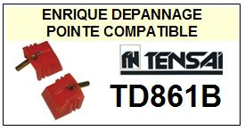 TENSAI<br> TD861B TD-861B Pointe (stylus) diamant sphérique<small> 2015-09</small>