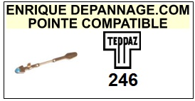 TEPPAZ-246-POINTES-DE-LECTURE-DIAMANTS-SAPHIRS-COMPATIBLES