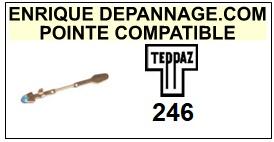 TEPPAZ-246-POINTES-DE-LECTURE-DIAMANTS-SAPHIRS-COMPATIBLES