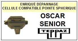 TEPPAZ platine OSCAR SENIOR  Cellule diamant sphérique <BR><SMALL>s-cel 2014-08</small>