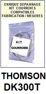 THOMSON-DK300T-COURROIES-ET-KITS-COURROIES-COMPATIBLES