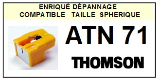 THOMSON ATN71  <br>Pointe Diamant <b>Sphérique</b> (stylus)<small> 2016-01</small>