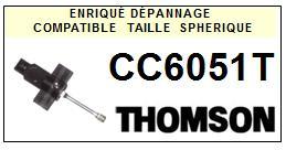 THOMSON CC6051T <br>Pointe sphérique pour tourne-disques (stylus)<small> 2015-10</small>
