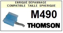 THOMSON<br> M490 Pointe (stylus) sphérique pour tourne-disques <BR><small>s+cel 2015-08</small>